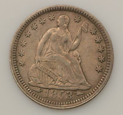 1853-P Seated Liberty Silver Half Dime *G70