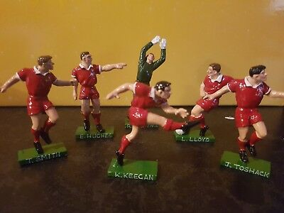 Hand painted Football metal cast figures Liverpool