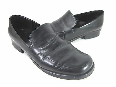 3ec953bdcb3 Franco Sarto Women s Bocca Loafers Black Leather Imported Us Size 11 Medium