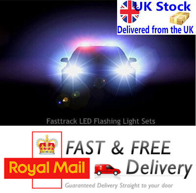 Flashing LED Light Sets For RC Truck Police Fire Ambulance