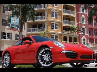 2015 Porsche 911 Carrera 991 PDK 911 Turbo S 6 speed stick manual cab coupe Red gt2 gt4 gt2 rs gt3 rs