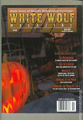 White Wolf Magazine #48 VF- 7.5