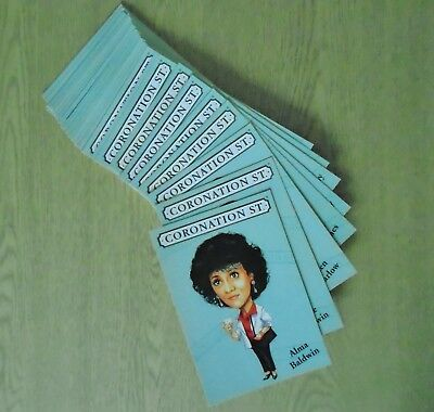 CORONATION STREET Set of 35 postcards (Granada, 1998) - Collectable