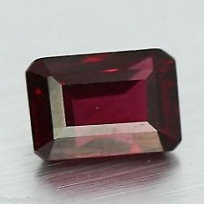 1.58 Cts Top Quality Aaa Red Natural Rhodolite Garnet