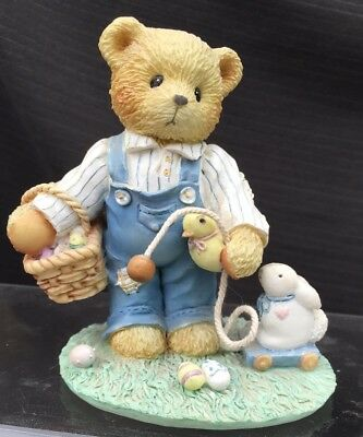 Cherished Teddies - Donald - Friends Are Egg-Ceptional Blessings