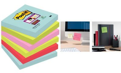 Post-it Haftnotizen Super Sticky Notes, 127 x 76 mm, Miami