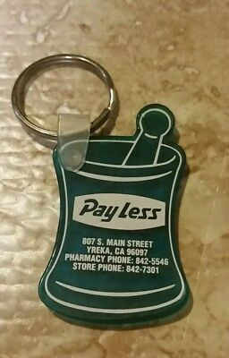Yreka, CA Pay Less Store Collectible Keychain