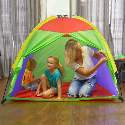 Children Play Tent Amazing Color for Indoor/Outdoor Use with Carry Case Kids Fun