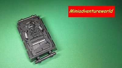 Lego NEW Minifigure Han Solo Carbonite 75137 Carbon-Freezing Chamber 87561pb01