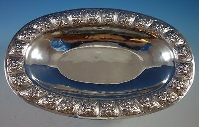 "Aztec Rose by Sanborns Mexican Mexico Sterling Silver Vegetable Dish 13"" (#1762)"