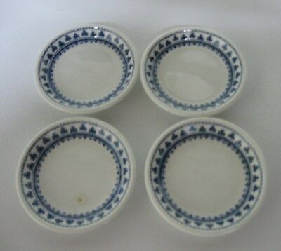 Antique  Set Of 4   Porcelain Adams, Wedgwood Group Butter Pats