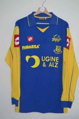 Rare Fcg Football Club De Gueugnon Long Sleeve Shirt Xl Mens Traore 19