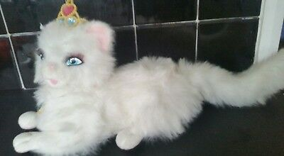Barbie The Princess and the Pauper Serafina Interactive White Cat Talks & Purrs!
