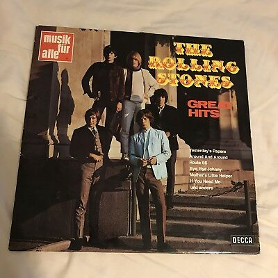 The Rolling Stones Great Hits Vinyl Lp Decca 1969