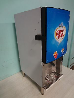 """""""silver King"""" H.d. Commercial Refrigerated 2 Flavors  Coffee Creamer Dispenser"""