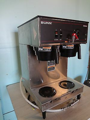 """Heavy Duty Commercial """"bunn"""" Dual Coffee Brewer For Use With Satellite Dispenser"""