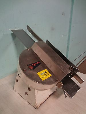 """ Moline "" Heavy Duty Commercial Counter Top Automatic Bakery Bagel Bun Slicer"