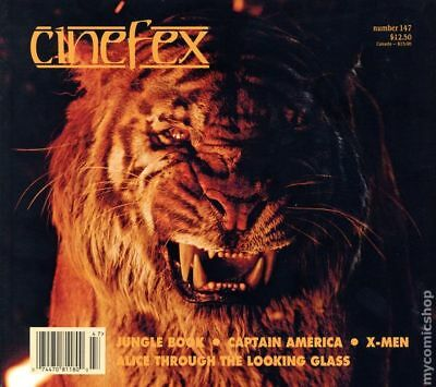Cinefex (1980) #147 NM