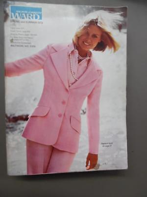 1973 Montgomery Ward Spring/Summer Catalog Fashion Home Decor Vintage