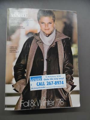 1978 Montgomery Ward Fall/Winter Catalog Fashion Home Decor Vintage