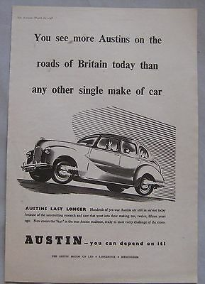 1948 Austin A40 Original advert No.3