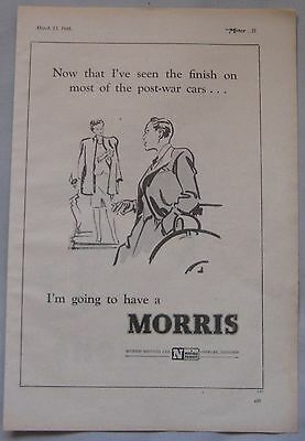 1946 Morris Original advert No.1