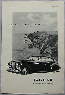 1952 Jaguar Original advert No.1