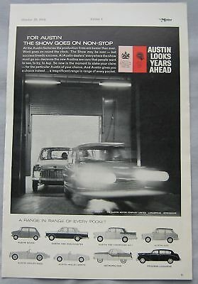 1959 Austin Original advert No.1