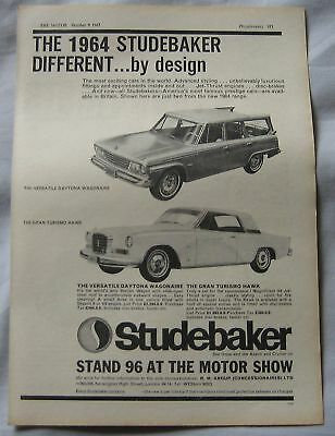 1963 Studerbaker Original advert