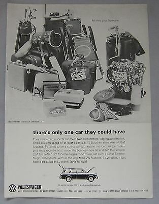 1964 VW estate Original advert