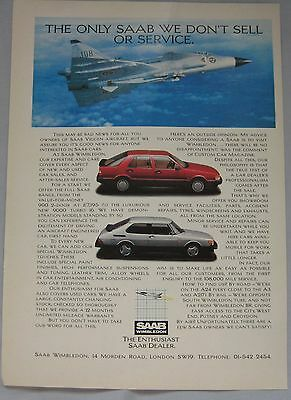 1986 SAAB Original advert