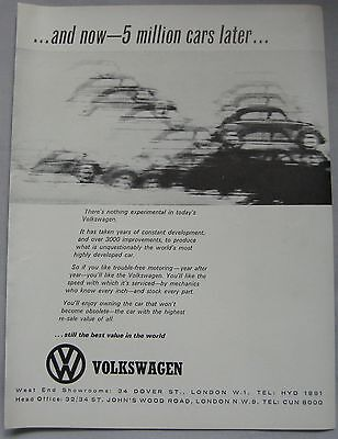Volkswagen Original advert