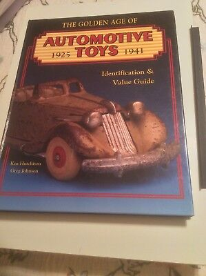 The Golden Age Of Automotive Toys Book. 1925-1941