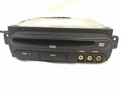 Chrysler Town & Country rear single DVD player head unit OEM 03-07 Dodge Caravan
