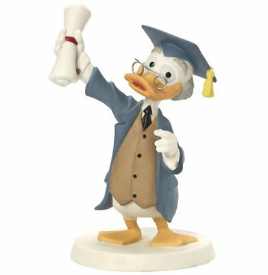Congratulations You Smarty Pants Precious Moments Disney Ludwig Von Drake NWOB