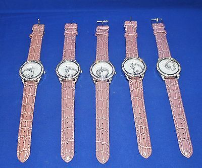 A Lot of FIVE New BELLAIR Watches With Leather Straps~I'M AWAY 'TILL 3rd OCT