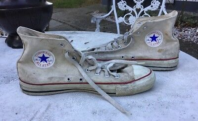 Vintage Converse Sneakers Chuck Taylor All Star High Tops Size 10.5