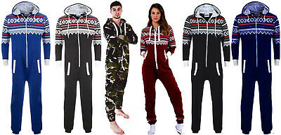 New with tag Unisex womens Men's Camouflage All In One Jumpsuit Onesi Small-XXXL