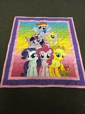 New Handmade Baby Quilt - My Little Pony