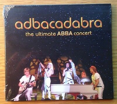 ABBACADABRA Ultimate ABBA Concert Tribute Band HARD-TO-FIND SEALED 2010 U.S. CD