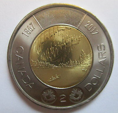 2017 Canada $2 1867-2017 150Th Anniversary Of Canada Proof-Like Toonie Coin
