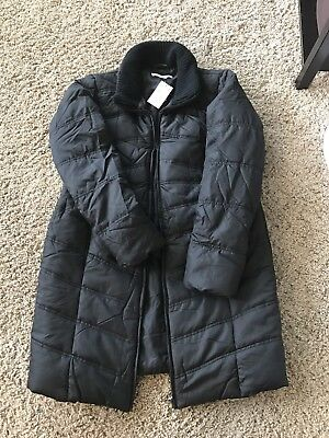 Motherhood Maternity Quilted Puffer Coat - NWT, Small