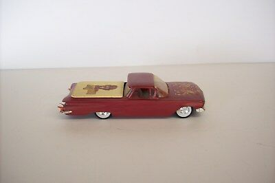 Vintage 1-Off Barris Type Custom 1960 El Camino Screw Base, 1/24 1/25 1960's