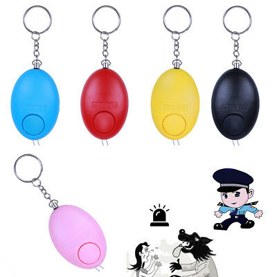 Guard Safety Key Ring Alarm Key Chain Protect Safety Alarm Anti-theft Device