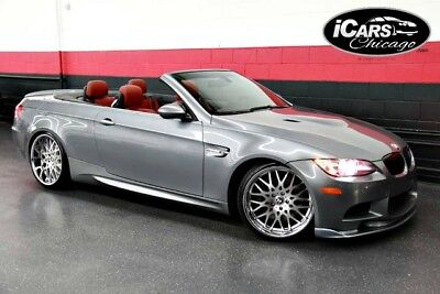 2008 BMW M3 Base Convertible 2-Door 2008 BMW M3 6 Speed Convertible Low Miles 2-Owner Navi Heated Seats Serviced WoW