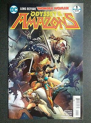 Odyssey Of The Amazons  #1 Rebirth Dc Wonder Woman