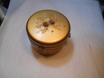 Ransburg Jeweled Powder Box