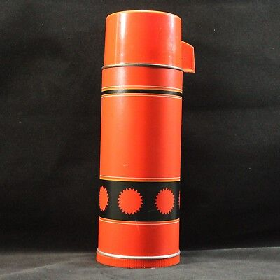 Aladdin Thermos Vacuum Bottle Economy Glass Insulated Qt.Vintage No. 43 Stanley