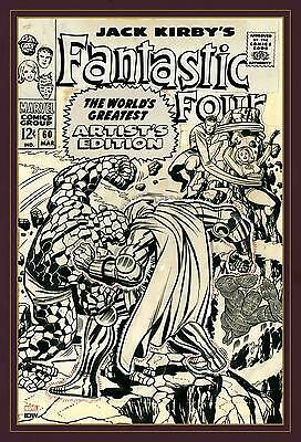 Jack Kirby Fantastic Four World's Greatest Artist's Edition Very Large Hardcover