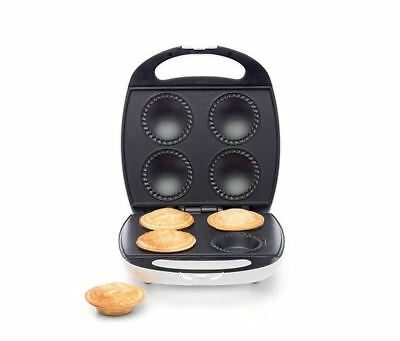 Pie Maker 4-piece Bakes Effortless Nonstick Plate Easy Cooking Pastry